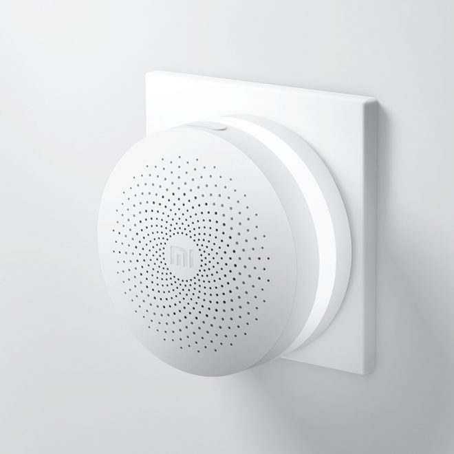 Original-Xiaomi-Smart-Home-Multifunctional-Gateway-Alarm-System-Intelligent-Mini-Online-Radio-Night-Light-Bell