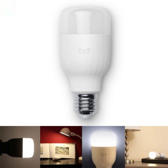 Original-Xiaomi-Yeelight-E27-Smart-LED-Bulb-Smartphone-App-WIFI-Remote-Control-White-8W-Dimmable-Super-1