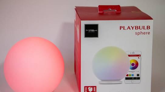 بررسی دیجیاتو: گوی هوشمند Mipow Playbulb Sphere