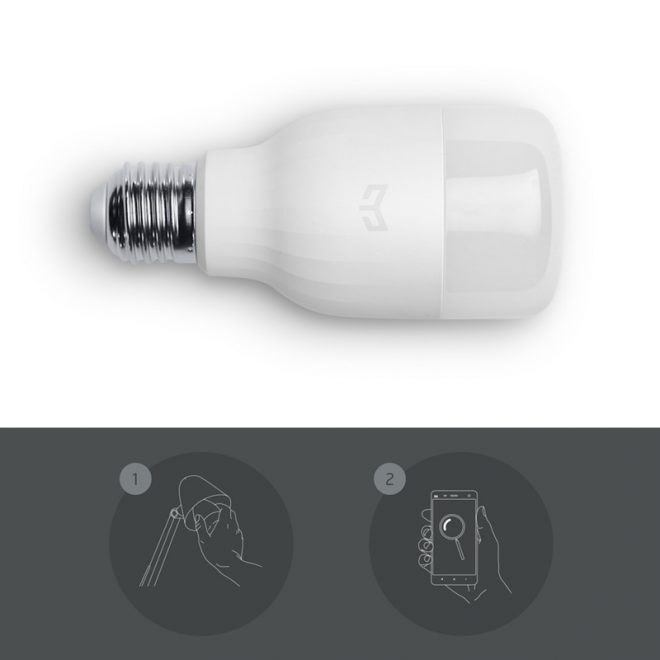 Original-Xiaomi-Yeelight-E27-Smart-LED-Bulb-Smartphone-App-WIFI-Remote-Control-White-8W-Dimmable-Super
